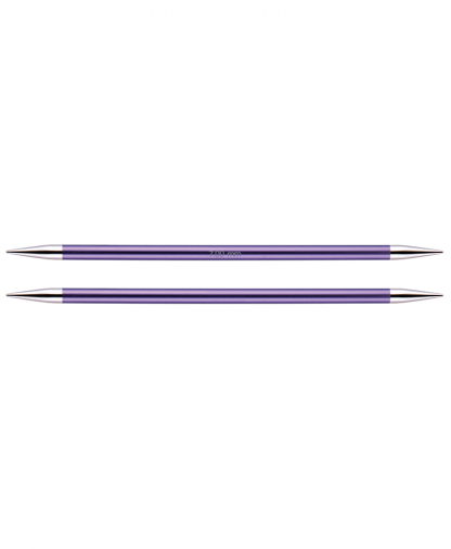 KnitPro Double Pointed Knitting Needles - Zing 15cm - 7.00mm