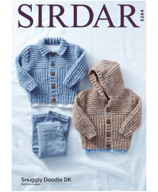 Sirdar 5284 Jackets in Snuggly Doodle DK