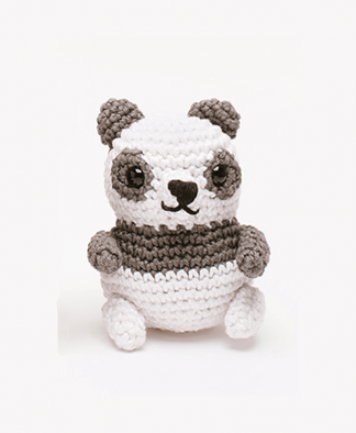 Sirdar Happy Cotton Book 2 - Panda Bear Finished