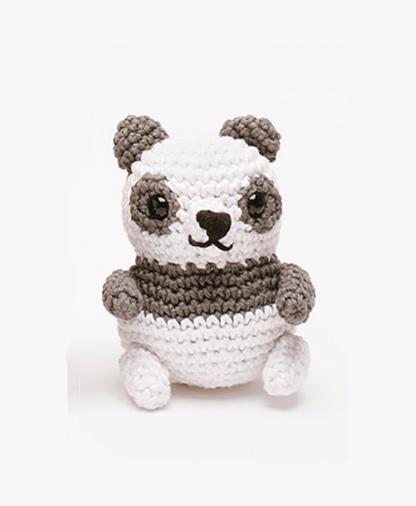 Sirdar Happy Cotton Book 2 - Panda Bear Finished