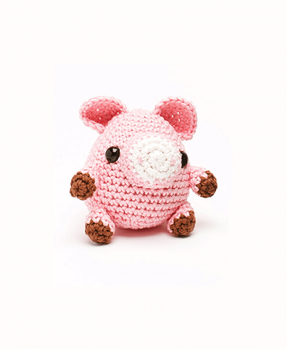 Sirdar Happy Cotton Book 2 - Piglet Finished