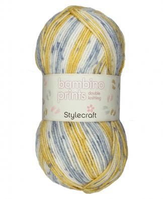Stylecraft Bambino Prints DK - 100g