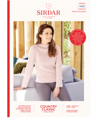 Sirdar 10085 Jumper in Country Classic DK