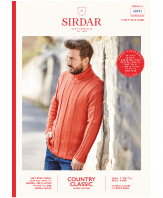 Sirdar 10091 Sweater in Country Classic DK