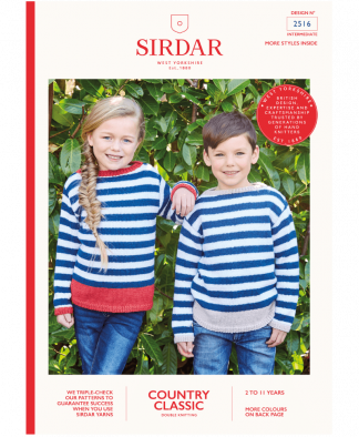 Sirdar 2516 Sweaters in Country Classic DK