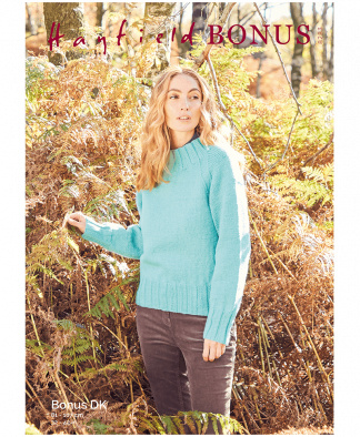 Sirdar 8283 Sweater in Hayfield Bonus DK