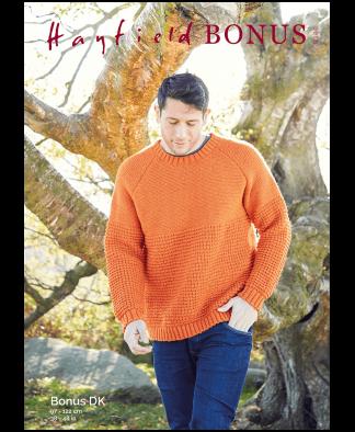 Sirdar 8286 Man's Sweater in Hayfield Bonus DK