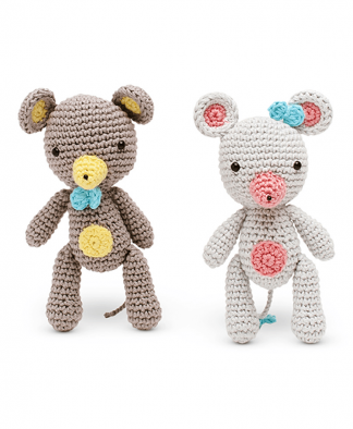 Sirdar Happy Cotton Book 4 - Micky and Millie Finished