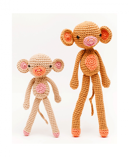 Sirdar Happy Cotton Book 4 - Monkey and Mini Finished