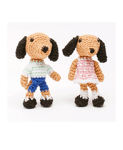 Sirdar Happy Cotton - Book 5 - Dapper Doggies Finished