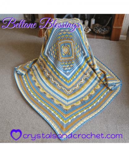 Crystalsandcrochet - Beltane Blessings Colourway 2 - Stylecraft Special DK