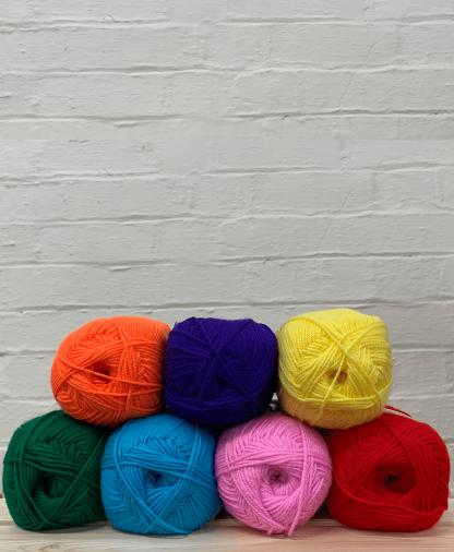 Hayfield Bonus DK - Rainbow Colour Pack