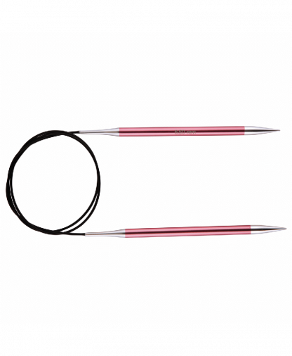 KnitPro Fixed Circular Knitting Needles - Zing - 60 cm - 6.50 mm (KP47104)