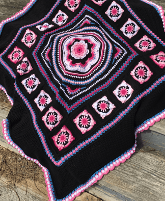 Pippin Poppycock - Floralia Blanket CAL - Martha Colourway - Stylecraft Special DK
