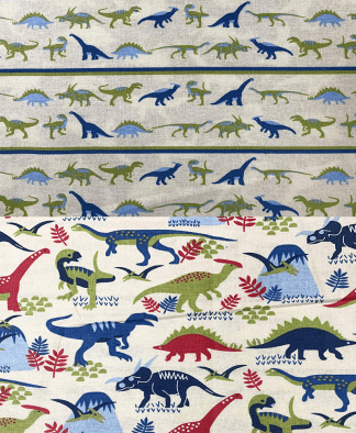 Craft Cotton Co - Dinosaur Land Fabric Collection