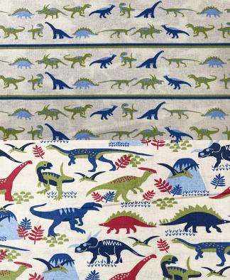 Craft Cotton Co - Dinosaur Land Fabric Collection