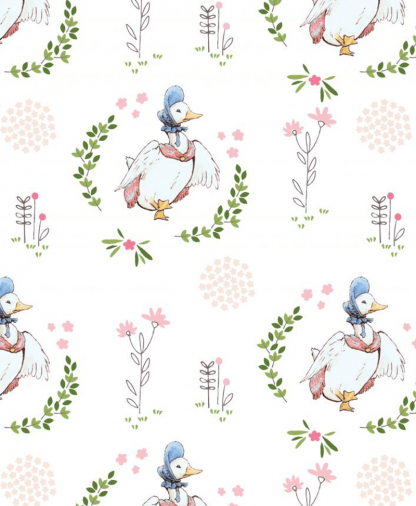 Craft Cotton Co - Peter Rabbit Fabric Collection - Puddleduck (2565-03)