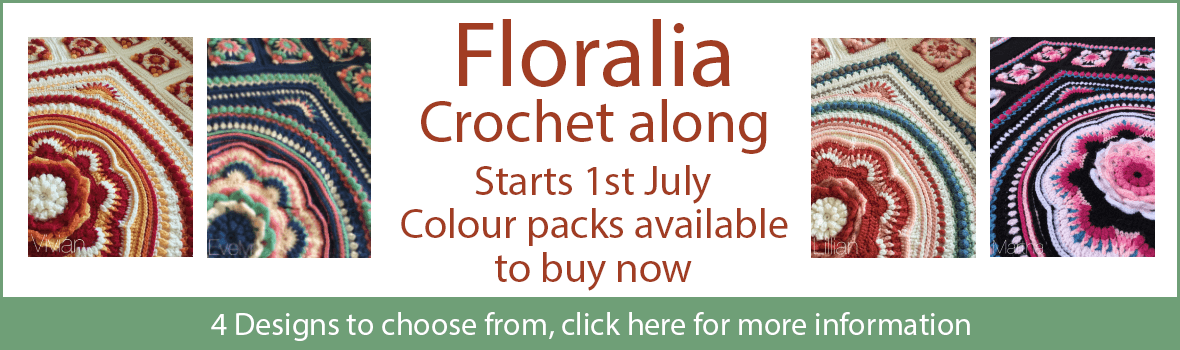 Floralia CAL Colour packs