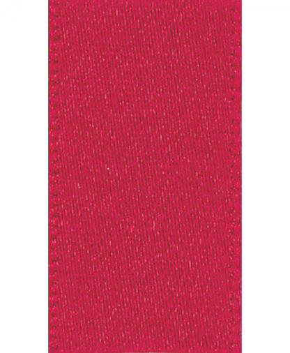 Berisfords Newlife Satin Ribbon - 7mm - Red (15)