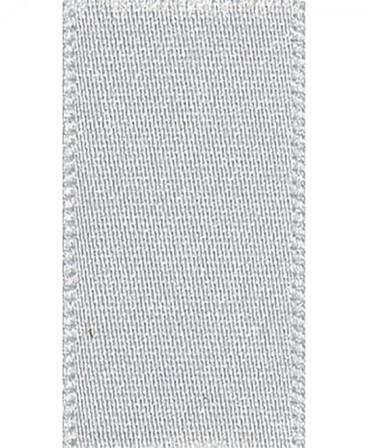 Berisfords Newlife Satin Ribbon - 7mm - Silver Grey (18)