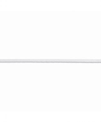 Groves - Round Elastic - White (A4R.WHT)