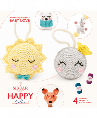 Sirdar Happy Cotton Amigurumi Baby Love - Book 10