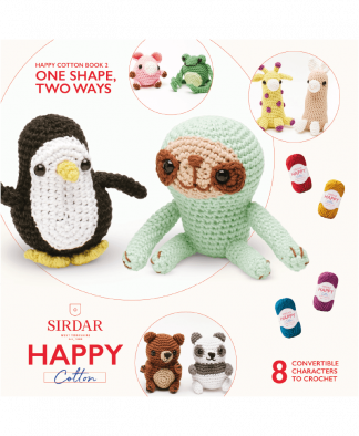 Sirdar Happy Cotton Amigurumi One Shape, Two Ways - Book 2