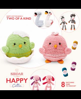 Sirdar Happy Cotton Amigurumi Two of a Kind - Book 3