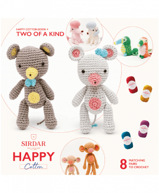 Sirdar Happy Cotton Amigurumi Two of a Kind - Book 4