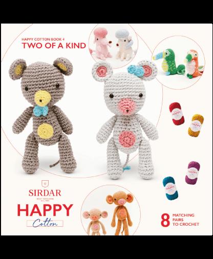 Sirdar Happy Cotton Amigurumi Two of a Kind - Book 4