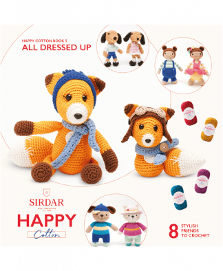 Sirdar Happy Cotton Amigurumi All Dressed Up - Book 5