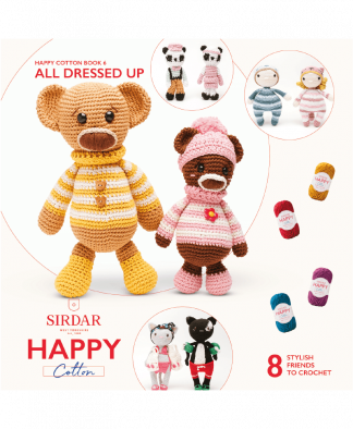Sirdar Happy Cotton Amigurumi All Dressed Up - Book 6
