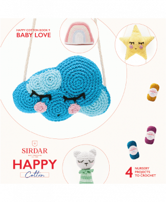 Sirdar Happy Cotton Amigurumi Seasonal Bunting - Book 9 (Download)