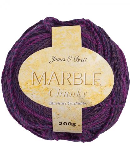 James C Brett Marble Chunky - 200g