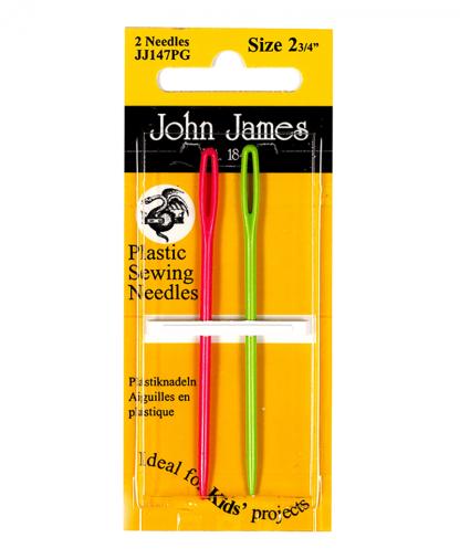 John James Needles - Childrens Plastic Needles (JJ147PG)