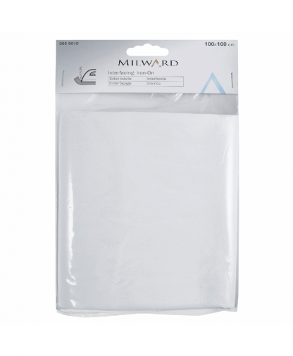Milward Iron On Interfacing - Medium - 1m x 1m