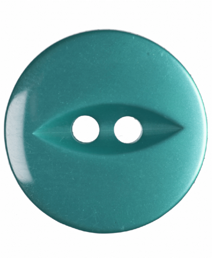 Round Fisheye Button - 26 Lignes (16mm) - Jade (G033926_25)