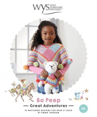 West Yorkshire Spinners Bo Peep Grand Adventures Crochet Pattern Book