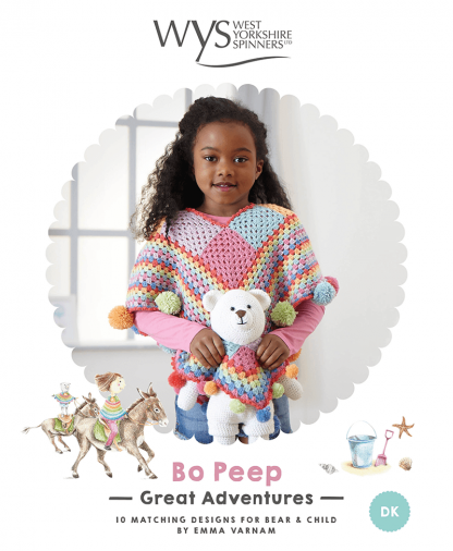 West Yorkshire Spinners Bo Peep Grand Adventures Crochet Pattern Book