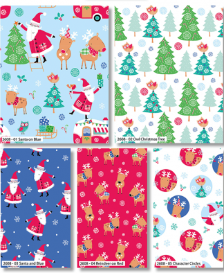 Craft Cotton Co - Santa and Reindeer - Fat Quarters