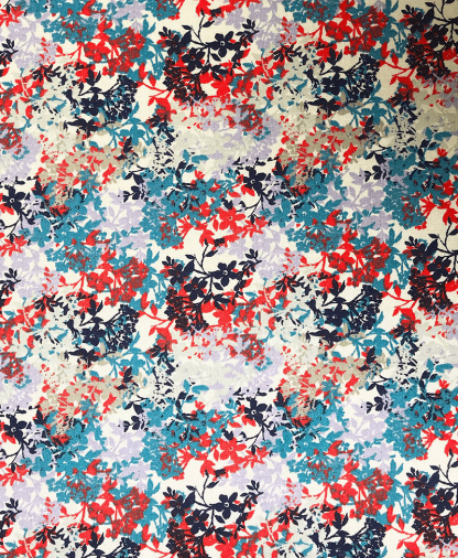 The Craft Cotton Co - Ditsy Floral - Foliage (2521-04)