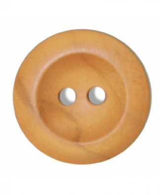 Round Olive Wood Button - Size 36 (23mm) (G176336)