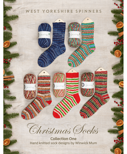 West Yorkshire Spinners Signature 4 Ply - Christmas Socks Pattern Book