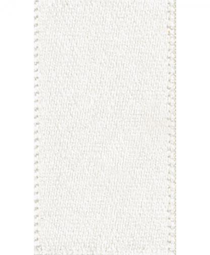 Berisfords Newlife Satin Ribbon - 15mm - Bridal White (419)