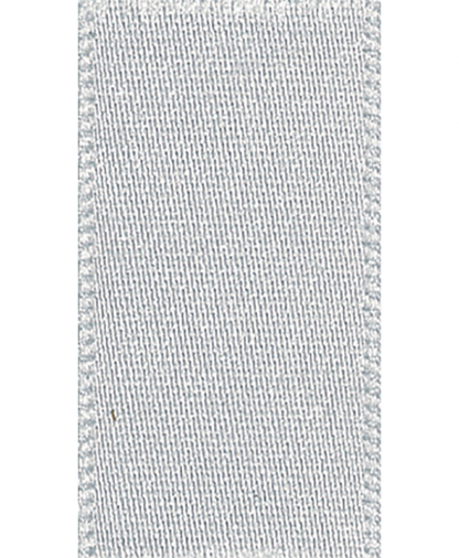 Berisfords Newlife Satin Ribbon - 15mm - Silver Grey (18)