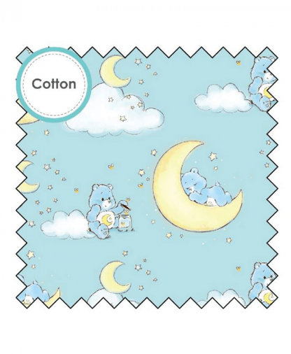 Craft Cotton Co - Care Bears Fabric Collection - Bedtime Bear - (44010404-01)