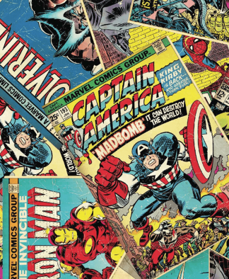 Craft Cotton Co - Marvel Fabric Collection