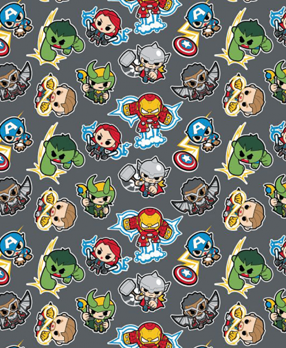 Craft Cotton Co - Marvel Fabric Collection - Mini Heros (13020865)