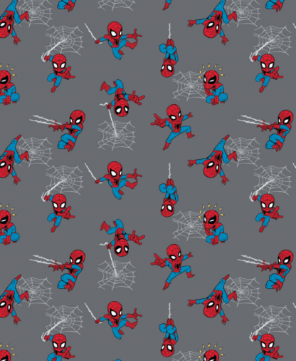 Craft Cotton Co - Marvel Fabric Collection - Mini Spiderman (13020847)