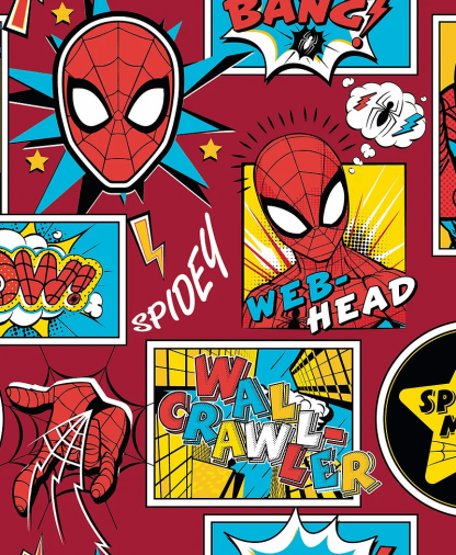 Craft Cotton Co - Marvel Fabric Collection - Spiderman (13080033VS01)